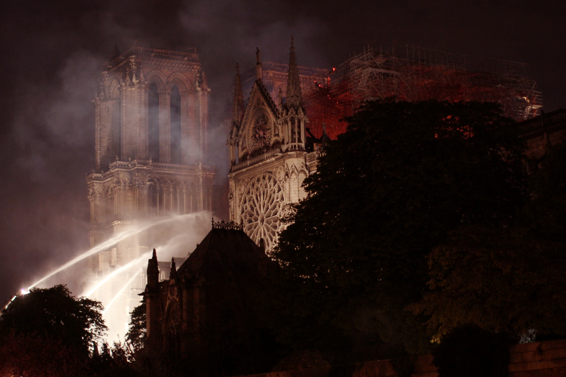 The Fire at Notre-Dame